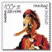 Stamp Pinocchio small