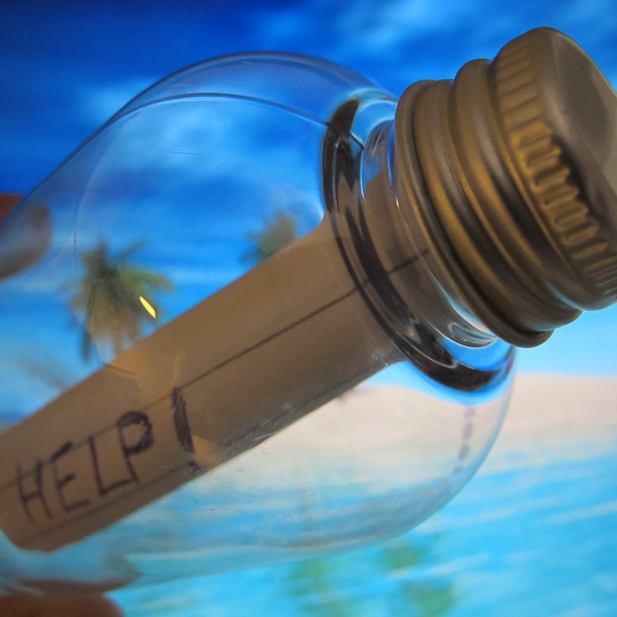 creative writing message in a bottle